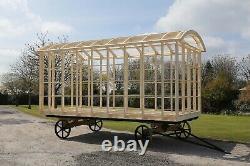 Shepherds Hut Glamping Pod Frame Diy Self Build Kit 4.8m X 2.2m