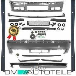 Stoßstange Bodykit Komplettpaket Abs + Zubehör Für M-paket M3 Passt F. Bmw 3er E36