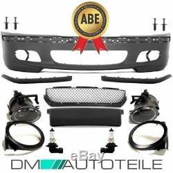 Stoßstange Set Limousine Touring + Nebel Set Pour M Sport + Montagekit Pour Bmw E46
