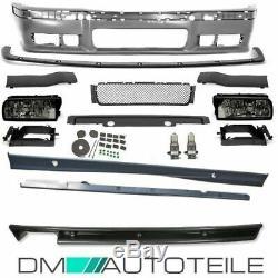 Stoßstange Vorne Hinten Seite Bodykit Passt Für M-paket Bmw M3 E36 + Abe