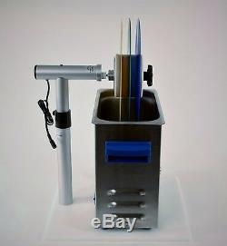 Système De Nettoyage De Disques En Vinyle Par Ultrasons - Kit De Nettoyage Pour Disques De Vinyle Avec Pile De 3 Disques