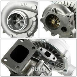 T04e T3 / T4 A / R. 63 57 400 + HP Version Phase III Turbo Charger + Huile De Vidange + Alimentation Kit Ligne