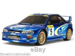 Tamiya 58631 Subaru Impreza Monte-carlo Tt-02 Rc Car Kit (sans Esc Unite)