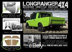 Td5 Discovery 2 Kit En Fibre De Verre De Camion Pick-up Complet Projet Land Rover