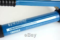 Temco 2 Hydraulique Knockout Perforatrice Électrique Conduits Cutter Ko Tool Kit