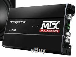 Terminator Tnp212d2 1200w Mtx Double 12 Sub Et Box Et Amplificateur Et Kit Amp