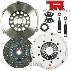 Tr1 Stage 2 Hd Clutch Kit & Chromoly Flywheel Pour Bmw 323 325 328 E36 M50 M52