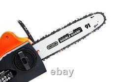 Tronçonneuse Sans Fil 18v Li-ion Battery Charger 10 Oregon Bar Chain Heavy Duty Kit