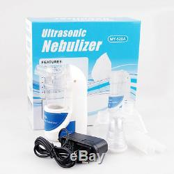 Trousse Adulte D'humidificateur De Respirateur Tenu Dans La Main De Nébuliseur Ultrasonique Portatif De Nébuliseur