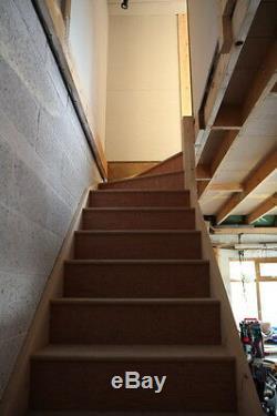 Trousse D'escalier Faite Sur Mesure De 3 Cerfs-volants (en Forme De L)