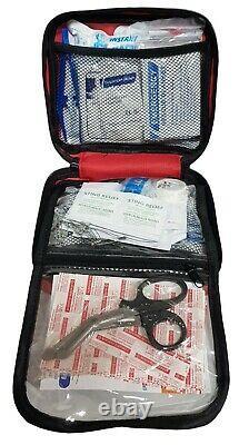 Trousse De Premiers Soins 108 Pièces Medical Emergency Travel Home Car Taxi Work 1st Aid Bag
