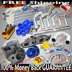 Turbo Kit T3/t4 Turbo Pour Le 02-06 Acura Rsx Dc5 Base Coupe 2d 2.0l I4 Dohc Type S