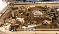 Turbo Kit Tundra T4 2uzfe 2uzfe 2uz Terre 4-runner Cruiser T70 Boost Nouveau Forfait