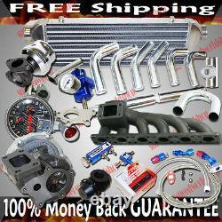 Turbo Kits T3/t4 Turbo Pour Bmw 2000-2006 330xi/ 330i/ 330ci Base Coupé 2d