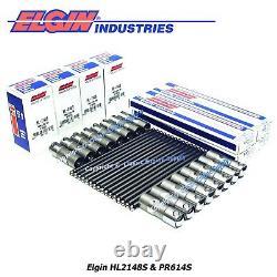USA Made Push Rod & Lifter Kit (16 Chacun) S'adapte À Certains 1999-2014 Gm 5.3l Ls Moteurs