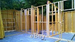 Urban Marque 2/3 Lit Bois Cadre Maison En Kit Auto-construction