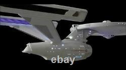 Uss Enterprise Ncc-1701 Refit/a Model Movie Quality Led Lighting/sound Kit