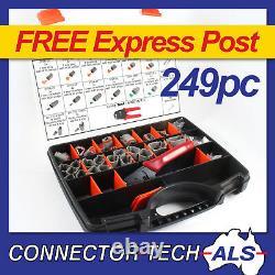 Véritable Deutsch Dt Connector Plug Kit 249pc Crimp Tool Automotive #dt-kit3