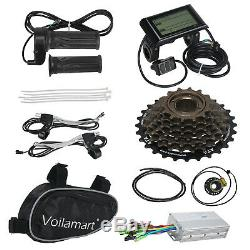 Voilamart 1000w Vélo Électrique Conversion Kit Roue Arrière Ebike Compteur LCD 26