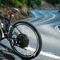 Voilamart 250w 1000w 26 Vélo Électrique E Vélo Avant Roue Arrière Kit De Conversion