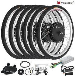 Voilamart 26 Kit De Conversion Pour Vélo Électrique E Vélo 250w 1000w Roue Arrière Avant