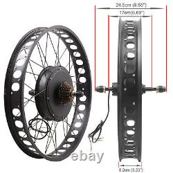 Voilamart 48v1000w Vélo Électrique Large Kit De Conversion De Roue De Vélo Arrière Fat Tire