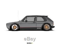 Volkswagen Golf Élargisseurs D'ailes Mk1 Mk2 Jdm Large Kit Carrosserie 3.5 90mm 4pcs