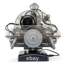 Vw Beetle Model Engine Kit Avec Collector's Book