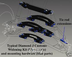Yamaha Blaster 200 A-bras Et Protection Contre Les Chocs Vtt Kit Élargissement 6