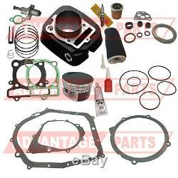 Yamaha Guerrier 350 Cylindre À Piston Joint À Air Huile Top End Kit Set 1987-2004