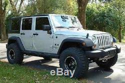 Zone 3 Suspension Avant Lift Kit Withfox 2.0 Chocs Pour 2007-2018 Jeep Wrangler Jk