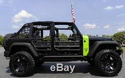 Zone Offroad 4 '' Lift Kit Withfox Chocs Pour 2007-2018 Jeep Wrangler Unlimited Jku