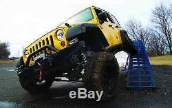 Zone Offroad J15n 4 Pleine Susp Lift Kit Pour Jeep Wrangler Jku 4 Portes Illimité