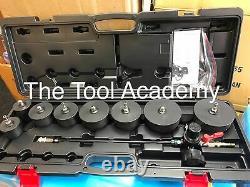(sbs) Turbo Système Détecteur De Fuite Outil De Test 35mm 90mm Adaptateurs